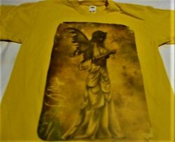 Womenand039s Gorgeous T-shirt Gothic Autumn Fairy With Mask And Butterflies