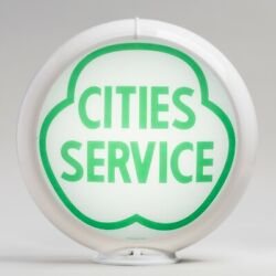 Cities Service Gas Pump Globe 13.5 G114 Free Shipping - U.s. Only