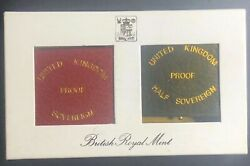 United Kingdom 1983 Royal Mint Gold Proof Two Coin Set In Ogp And Coa, Low Mintage