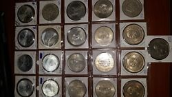 Lot Of 21 Mexican Silver Coins