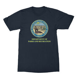 Parks And Recreation Funny Tv City Of Pawnee Indiana 1817 Badge Men's T Shirt