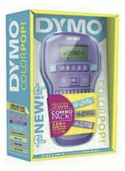 Brand New Dymo Colorpop Color Label Maker Combo Pack Printer Plus 3 Color Tapes