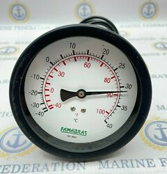 Famabras -40 - 40c / -40 - 100f Temperature Thermometer Of Refrigeration Gauge