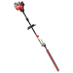 22 In. 25 Cc Gas 2-cycle Articulating Hedge Trimmer With Attachment Capabilities