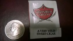 Vintage Swisher Sweets Relax-enjoy A Cigar Unused Matchbook Made In Usa