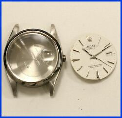 Vintage Rolex Oyster 1500 , Dial, Hands Set Crystal,stainless Steel Watch Case