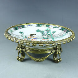 Chinese Exquisite Handmade Porcelain Plate