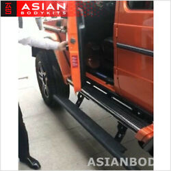 For Mercedes Benz G Class G63 G550 4x4 Long Side Step Electric Power Steps