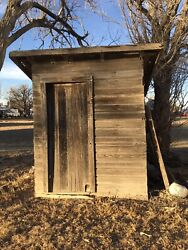 Vintage Barn Wood Lumber Farmhouse Outhouse You Pick Up