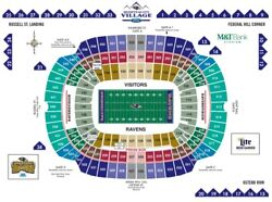 2 Or 4 Baltimore Ravens Psl Season Ticket Rights - Section 106, Row 25