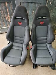 Fiat 500 595 Abarth Sabelt 595 Rare Interior Front Seats Only Buckets