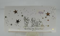 We'll Plant The Starry Pines Snowbabies Dept. 56 Pewter Miniatures 7663-5 - Nib