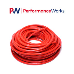 Hps 1 25mm Id Red High Temp Reinforced Silicone Heater Hose Tubing 100 Feet