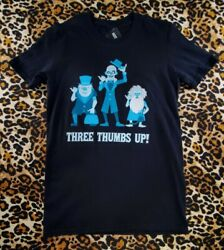 Funko Haunted Mansion Hitchhiking Ghosts Thumbs Up Tshirt Black Size Xs Nwt