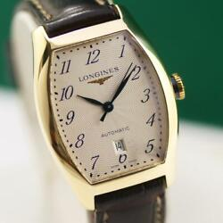 Longines Evidenza L2.142.6 18k Solid Gold Automatic Unisex Watch