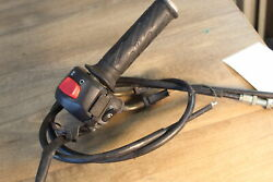 2002 Suzuki Gsxr1000 Throttle Cable Line Housing Guide With Cables And Tube