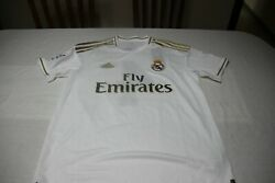 T-shirt Official Of The Real Madrid Brand Adidas Size M No 4 Sergio Ramos