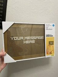 Target Room Essentials LED Letter Board Brand New And Ships Free