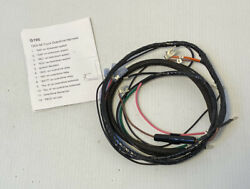 1955 1956 Chevy Truck Overdrive Wire Harness 8 Cyl Made In Usa With Instruction
