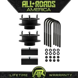 For 2003-2013 Ram 2500 3500 Full 1.5 Front Spacers 1 Rear Lift Kit 4 Axle