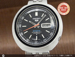 Seiko 5sports 6106-6040 Day-date Automatic Winding Vintage Watch 1969and039s