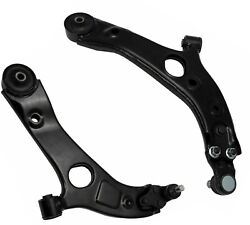 2 Front Lower Control Arms With Ball Joints Fits Hyundai Azera Kia Optima