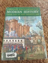 Modern History Best Condition 1500 To The Present Day Larousse Encyclopedia