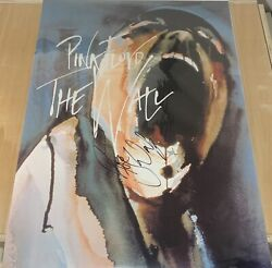 Pink Floyd The Wall Signed Poster Roger Waters Proof