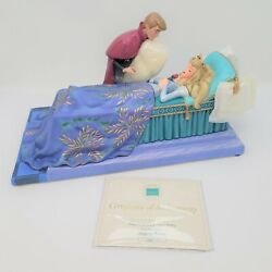 Wdcc Loves First Kiss Aurora And Phillip Sleeping Beauty Le 1298/1959 Coa And Box