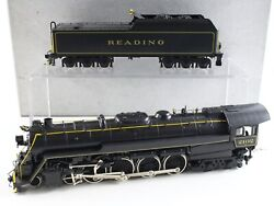 Reading 4-8-4 T-1 Steam Loco 2102 Custom Nj Daiyoung Ho St-801 Painted Brass