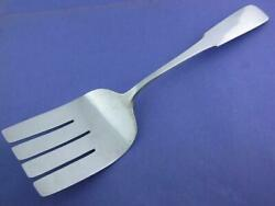 Sterling Old Newbury Crafters Onc Asparagus Fork Moulton Handwrought Nomono