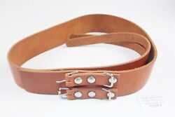 1970and039s Beta Fuel Gas Tank Leather Belt Brown 125 250 350 Motocross Enduro Cr Rc