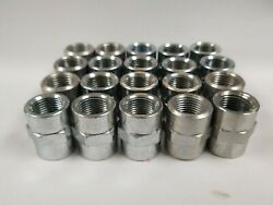5000-06-06 3/8 Fnpt To 3/8 Fnpt Steel Bushing Couplers Lot Of 20
