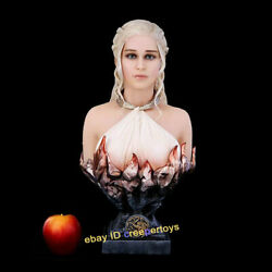 Game Of Thrones 1/2 Scale Daenerys Targaryen Bust Statue Limited199 H 48cm