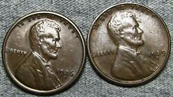 1926-s 1929-s Lincoln Cent Wheat Penny --- Nice Coin Lot --- L692
