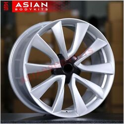 Forged Wheels Rims 20 Inch For Tesla Model 3 2016+ 20x8.5 5x114.3 Silver