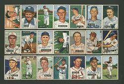1951 Bowman Autographed Baseball Cards 56 With Nm-mt To Mint Quality Hq Signed