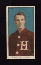 1910-11 C56 Imperial Tobacco 28 Paddy Moran Rookie Card Hall Of Fame Goalie Rc