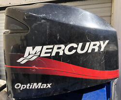 Mercury 225 Hp Optimax 2 Stroke Outboard Engine Hood Cover Cowl Cowling