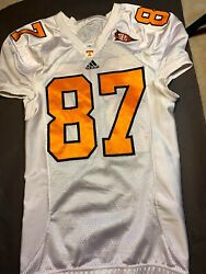 Authentic Tennessee Volunteers Game Worn Jersey 87 Used Issued Team Player Vols