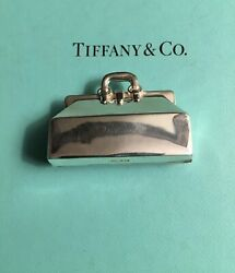 And Co. Sterling Silver Pill Box Doctorand039s Bag Dr. Vintage Very Rare 1994