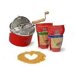 Wabash Valley Farms 38306 Whirley-pop Popcorn Gift Set