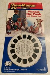 Vintage 1990 New Sealed View-master Winnie The Pooh And Tigger Too 3 Reels