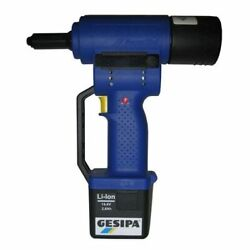 Gesipa Powerbird Cordless Blind Rivet Tool In Case With Battery And