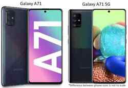 Samsung Galaxy A71 / A71 5g   128gb   Atandt Only Or Gsm Unlocked Smart Cell Phone