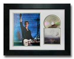 Shawn Mendes Hand Signed Framed Cd Display Wonder Music Autograph
