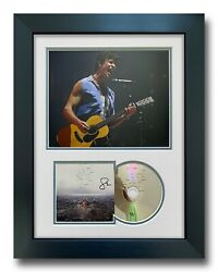 Shawn Mendes Hand Signed Framed Cd Display Wonder Music Autograph 1