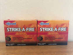 Diamond Strike-a-fire Starter 2-packs 96 Total Starters -lowest Price Right Here