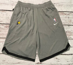 Nike Nba Indiana Pacers Player Coach Performance Practice Shorts Size Large-tall