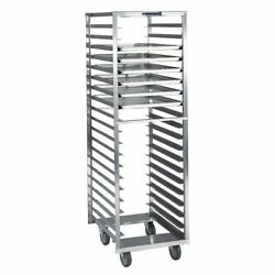 Lakeside 173 Stainless Steel Narrow Opening Pan Rack - Holds 20 18x26 Trays